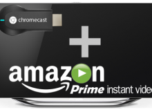 Chromecast Amazon Prime