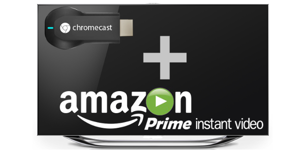 play amazon prime on chromecast