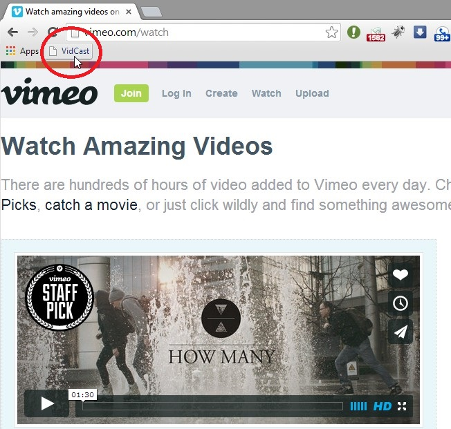 vidcast-vimeo-video