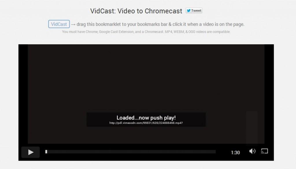 vidcast-webpage