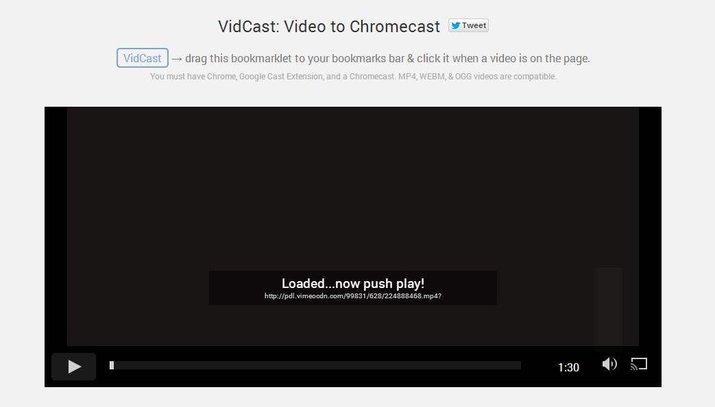 How to Chromecast Vimeo videos - Chromecast Help