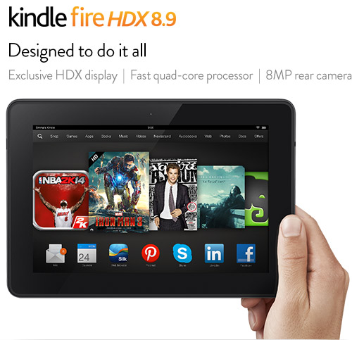 Kindle Fire 8.9 HDX