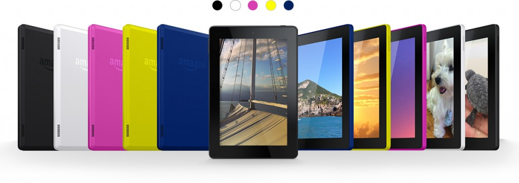 Kindle Fire HD7 colors