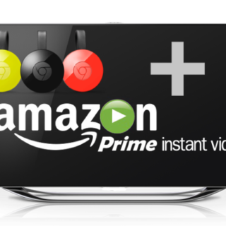Chromecast Amazon Prime