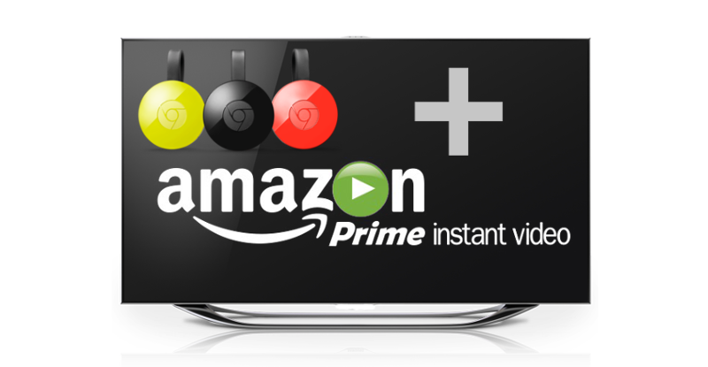 Amazon Prime Chromecast